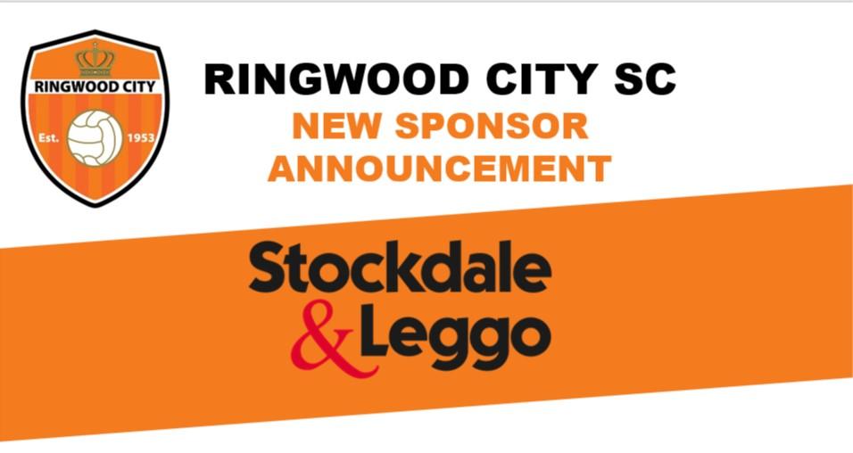 Stockdale & Leggo joins Ringwood City SC as new Major Sponsor